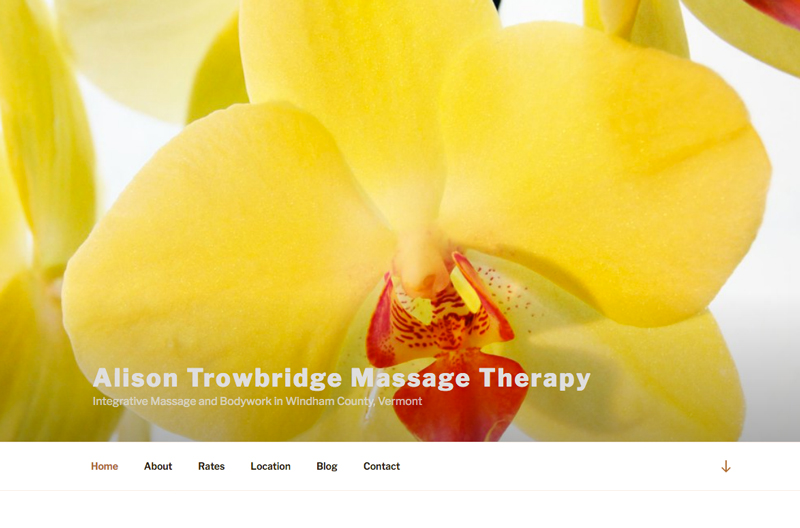 Massage-Website-Design-Newfane-VT