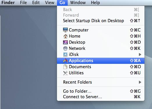 Folder on a Mac