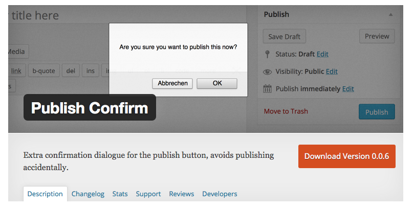 How to Prevent Accidentally Publishing a WordPress Post