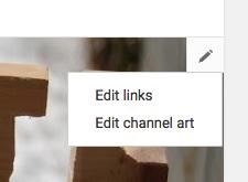 Edit Links in YouTube