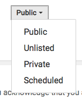 YouTube-Privacy-Setting