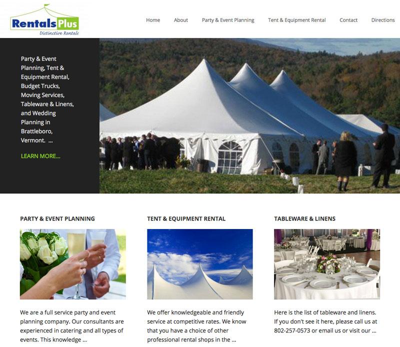 Vt Rentals Plus Website