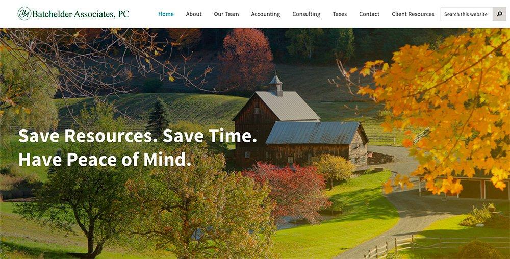 Kurn Hattin Vermont website design