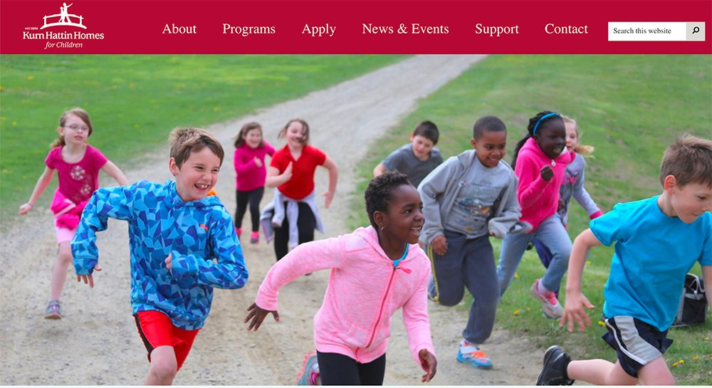 Kurn Hattin Vermont web design